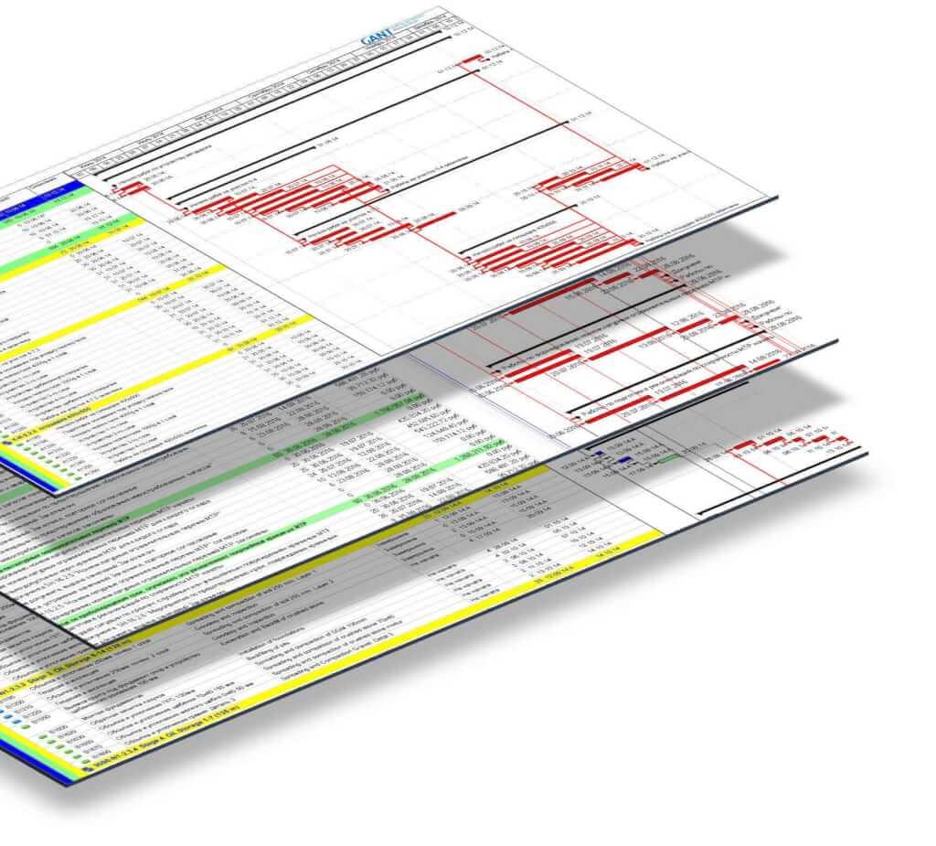 график работ в примавера консалтинговая компания