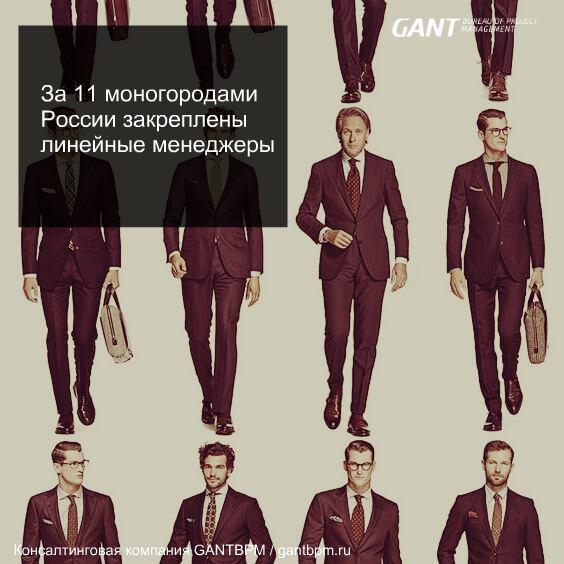 Проектный комитет. За 11 моногородами России закреплены линейные менеджеры консалтинговая компания ГАНТБПМ