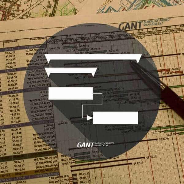 Диаграмма Ганта Консалтинговая компания GANTBPM