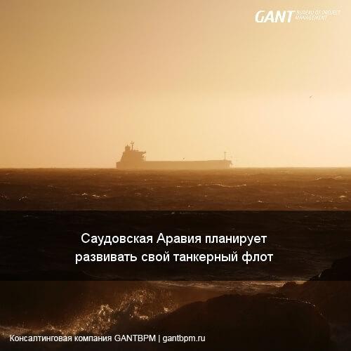 Саудовская Аравия планирует развивать свой танкерный флот.