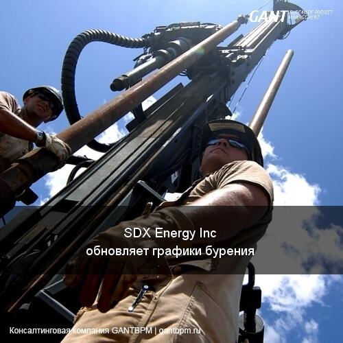 SDX Energy Inc обновляет график бурения