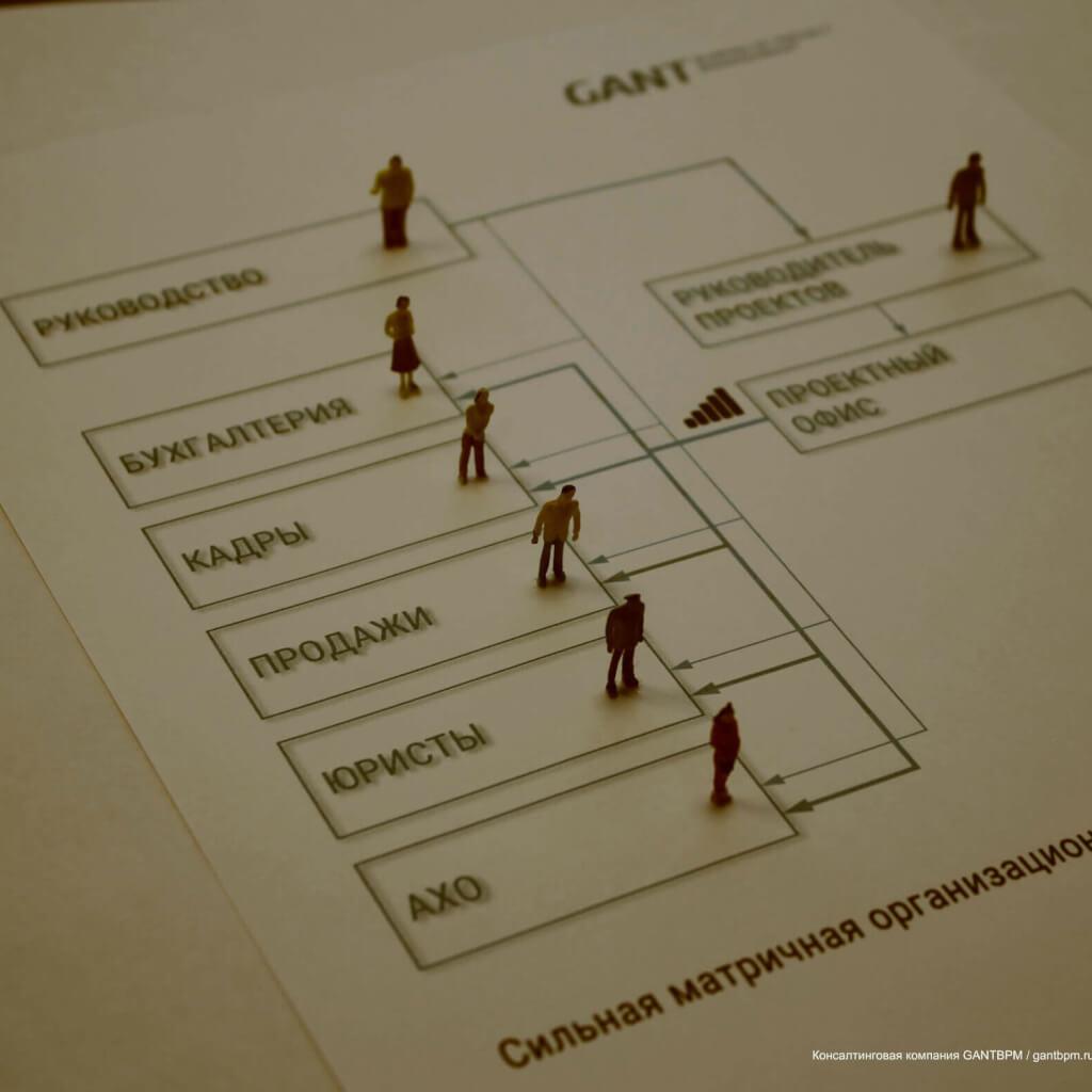 Сильная матричная организационная структура